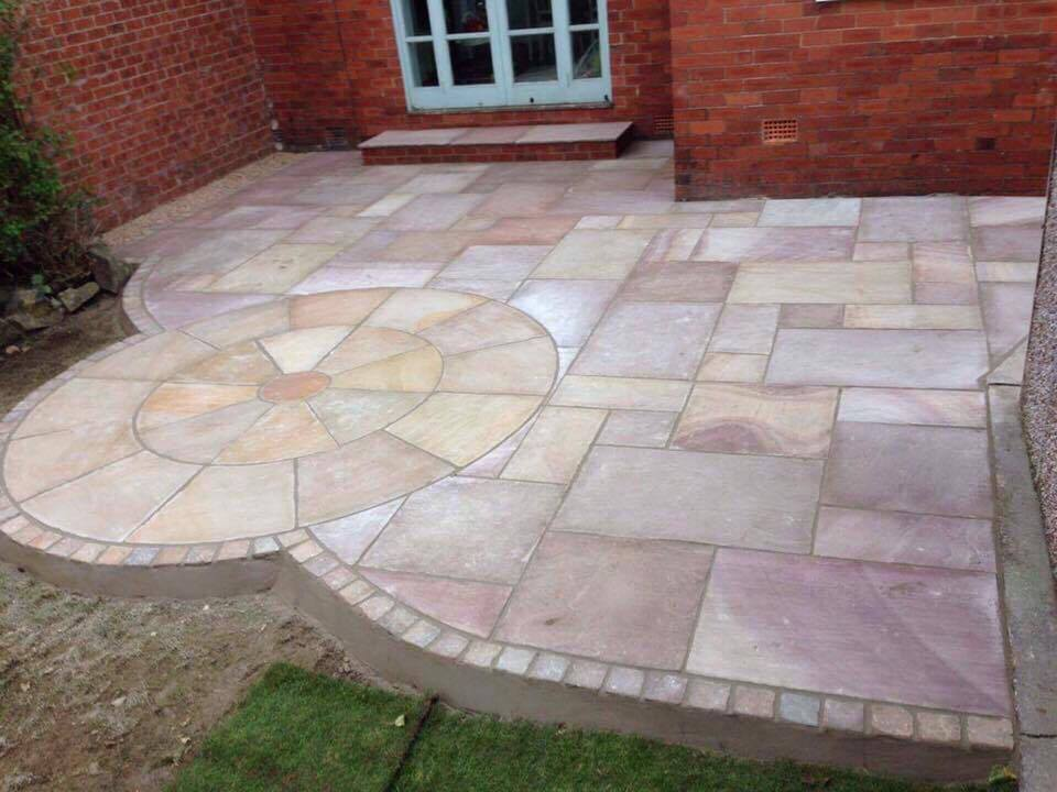 New Custom Patio