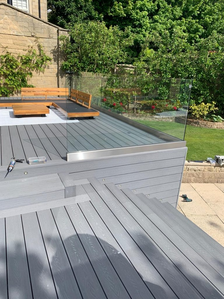 Composite Decking fitted by Heritage Decking